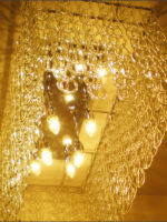 Customised Glass Chandelier